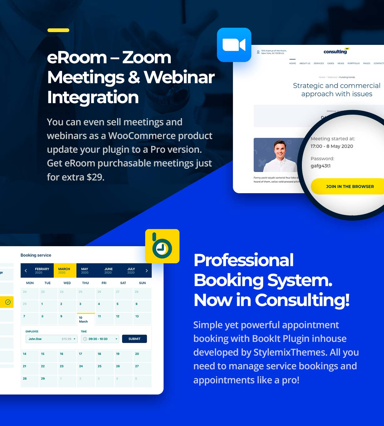 Consulting - Business, Finance WordPress Theme - 1