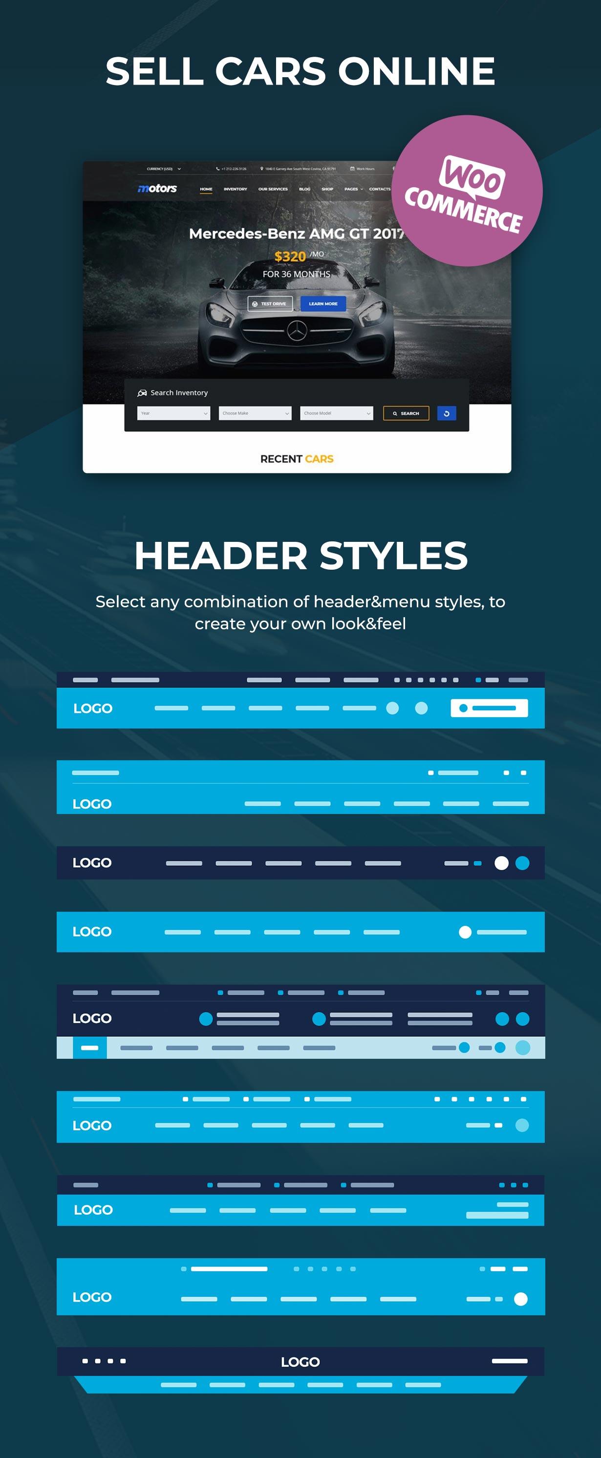 Motors - Car Dealer, Rental & Classifieds WordPress theme - 5