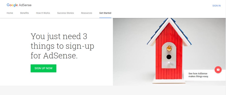 монетизировать блог на WordPress - Google AdSense