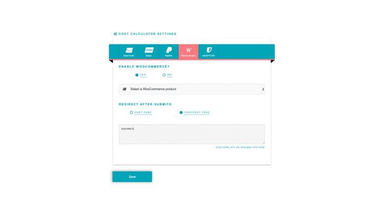 wordpress cost calculator plugin free download