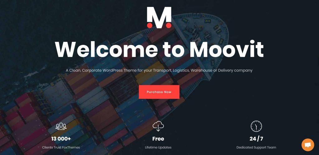 Logistics and Transportation  WordPress Themes