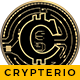 Crypterio – ICO Landing and Cryptocurrency WordPress Theme