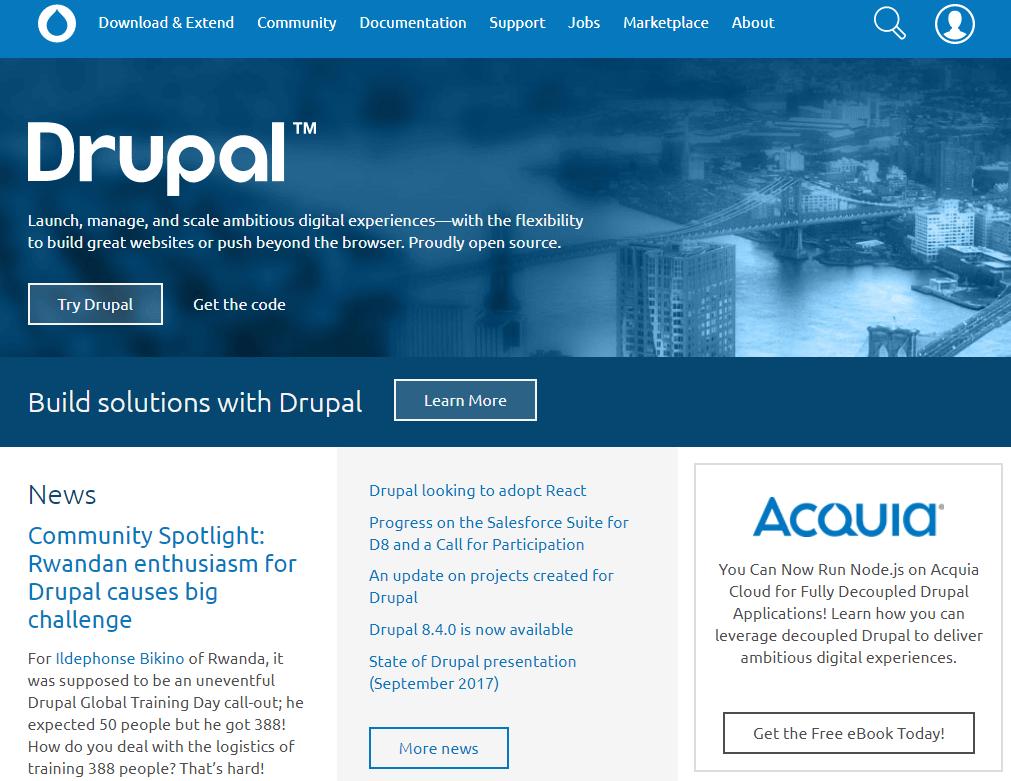 Drupal Website Creator