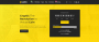 Demo page of Cryptic WordPress theme
