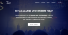 Band Website With WordPress & Tune