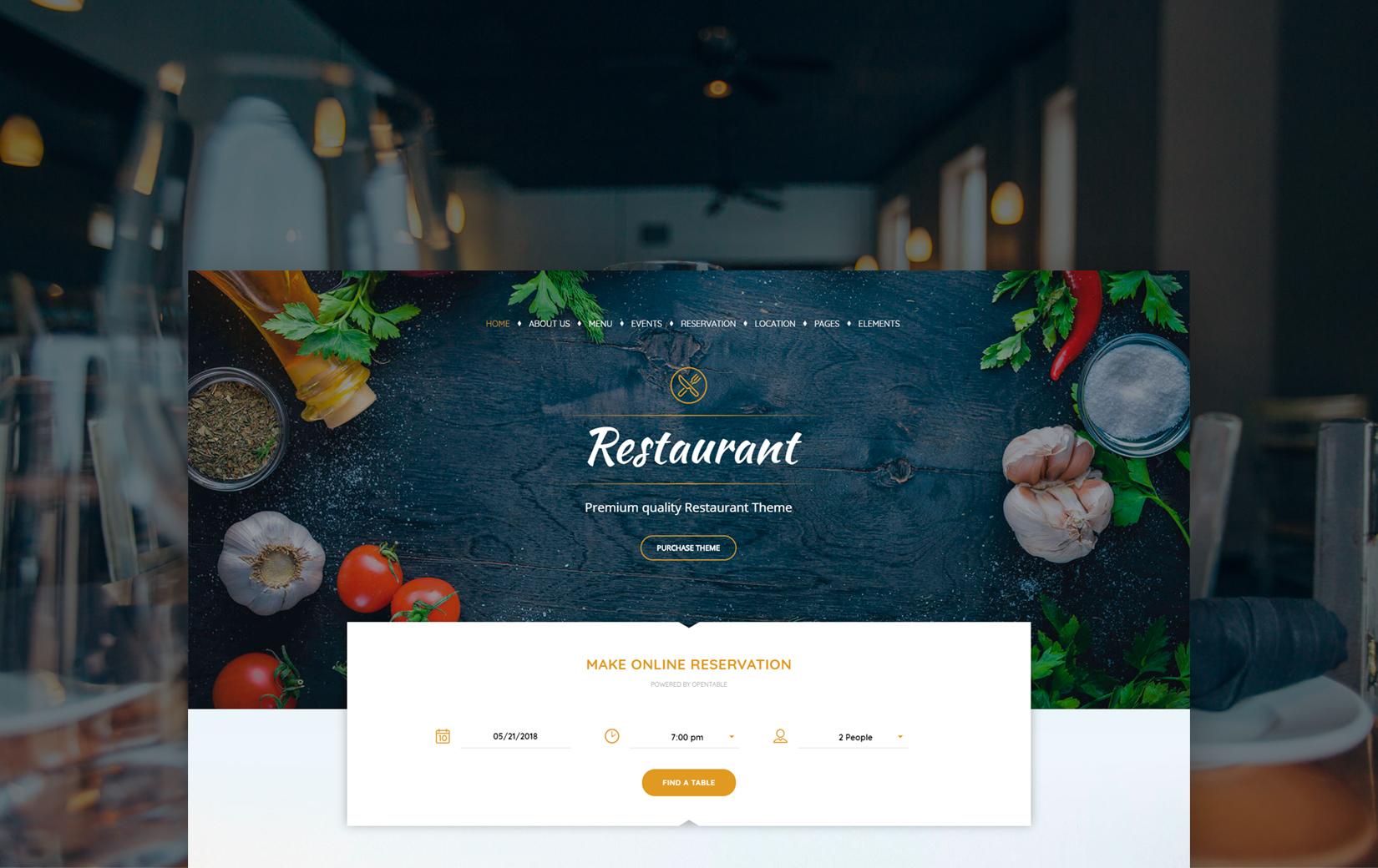 40+ Yummy Food & Restaurant WordPress Themes in 2019 | StylemixThemes