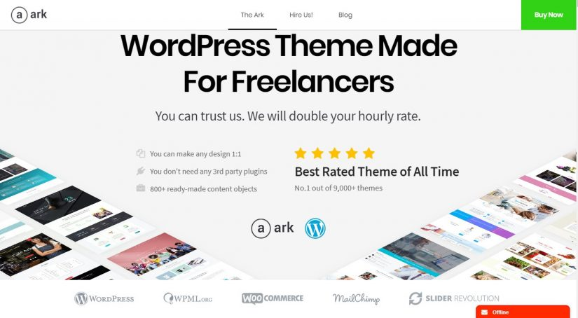 60 Amazing Corporate & Small Business WordPress Themes 2019