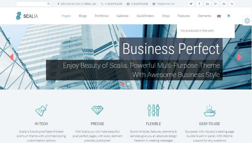 60 Amazing Corporate & Small Business WordPress Themes 2019