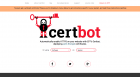 Certbot website