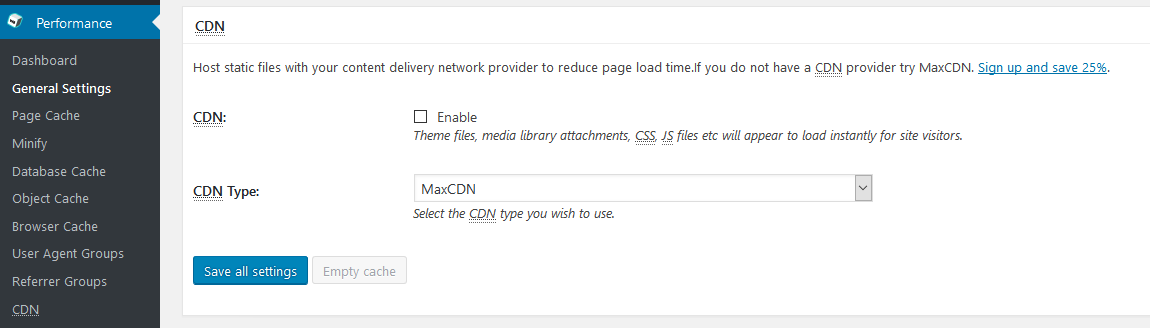 Complete Guide to W3 Total Cache Plugin Settings