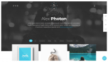 Jevelin Portfolio WordPress Theme