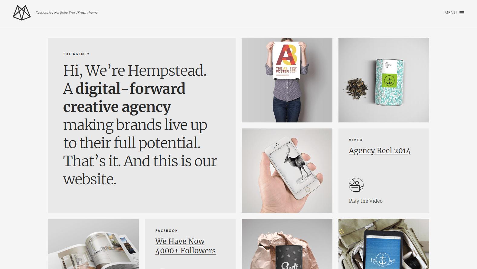 40 Creative Portfolio WordPress Themes in 2019 | StylemixThemes