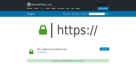 SSL Secure Content Fixer plugin