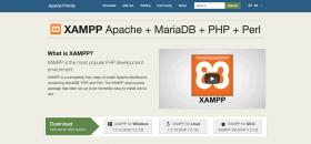 XAMMP page