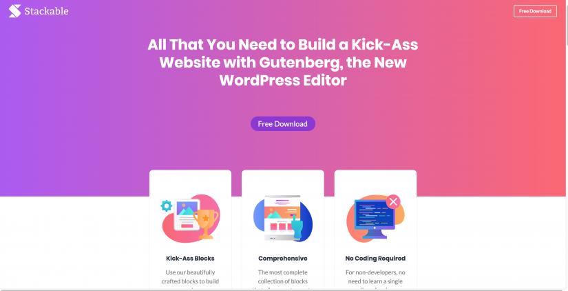 Stackable Ultimate Gutenberg Blocks for WordPress (1)
