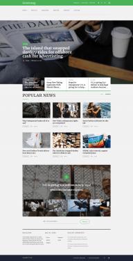 Gutenmag - Gutenberg Front Page