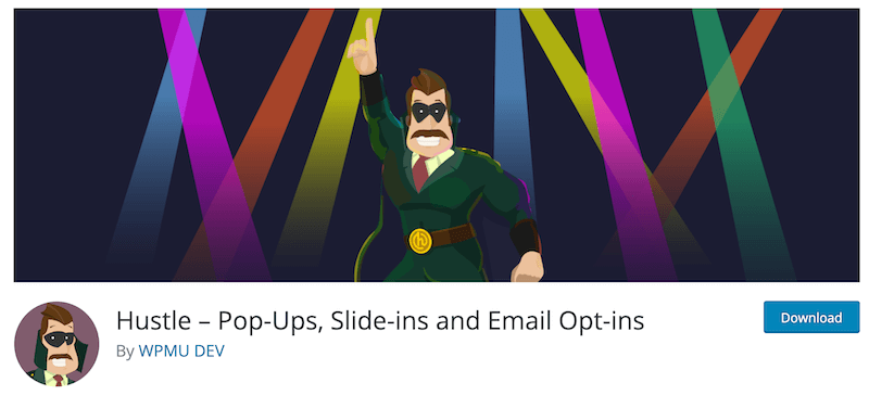 Hustle – Pop Ups Slide ins and Email Opt ins WordPress org