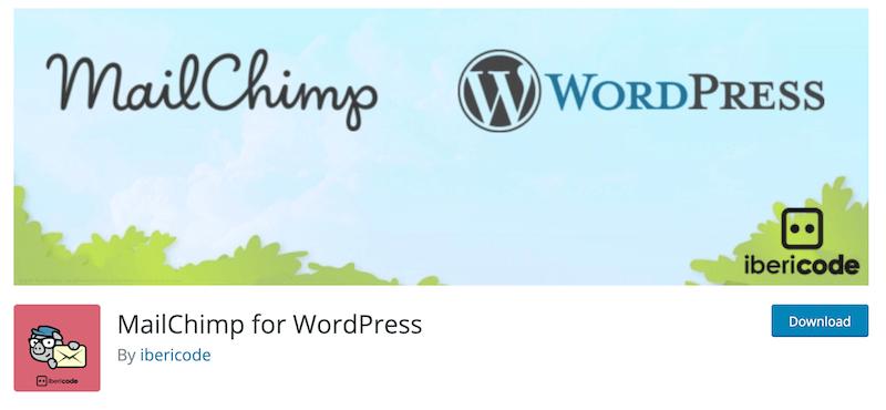 MailChimp for WordPress WordPress org