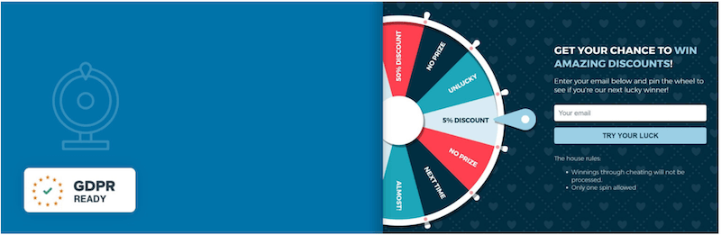 WP Optin Wheel – Gamified Optin Email Marketing