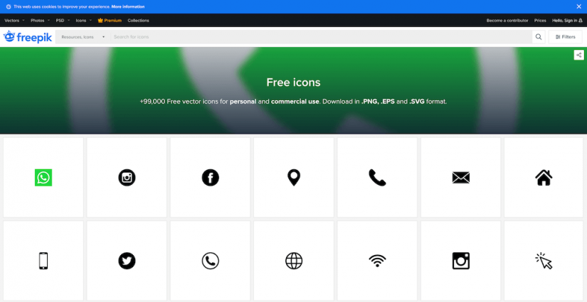 15 Best Sites for Finding Free and Modern Icons | StylemixThemes