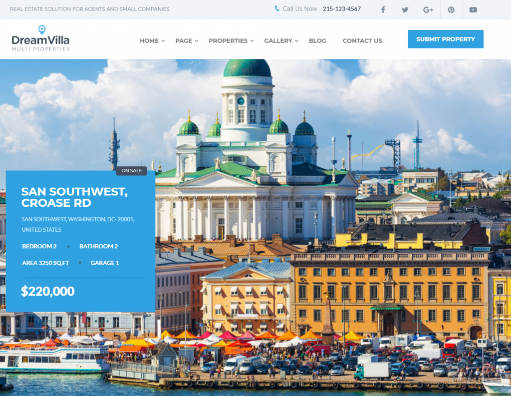 best real estate websites wordpress