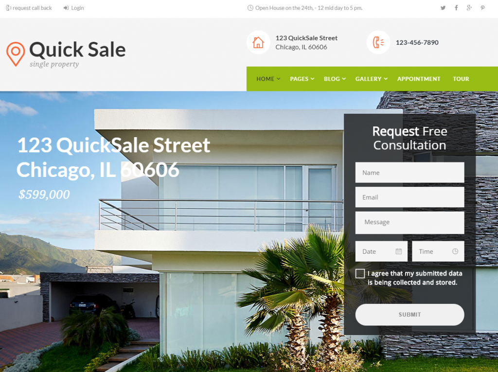 best real estate templates