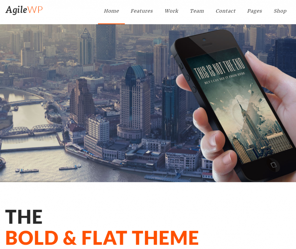 elegant real estate wordpress theme