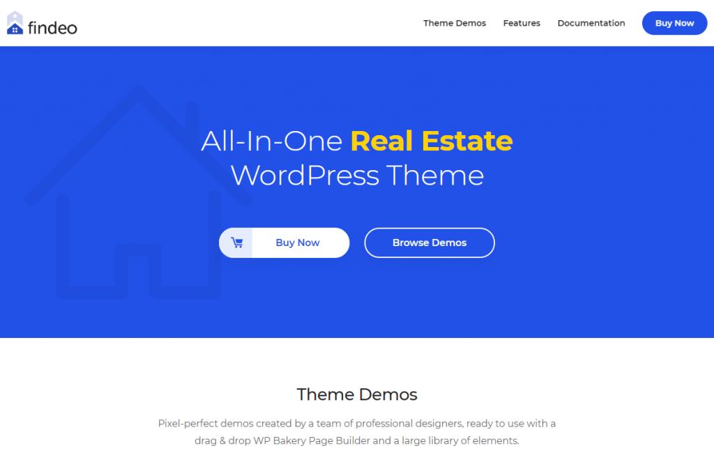 real estate agent website templates wordpress