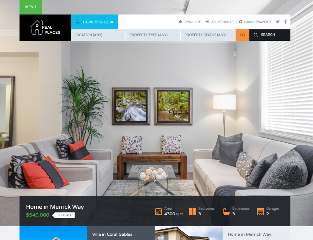 wordpress real estate themes 2020
