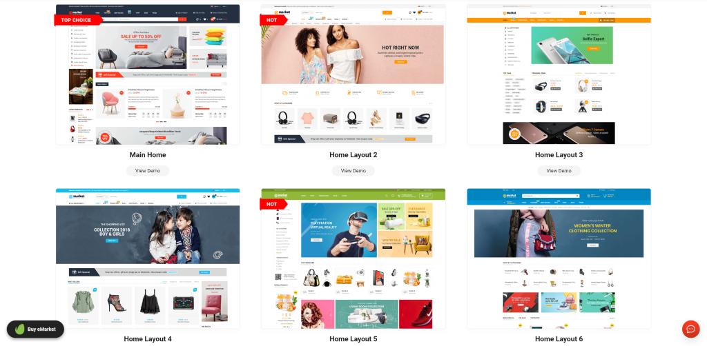 Multi-Vendor Marketplace WordPress Themes