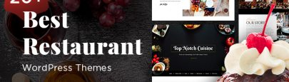 20+ Best Restaurant WordPress Themes